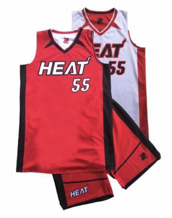 Heat Basketball Gold Coast-New-Sublimated Uniform Complete Kit